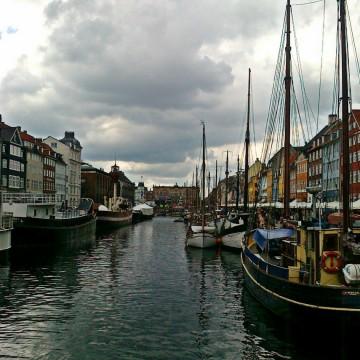 Студената красота на Копенхаген