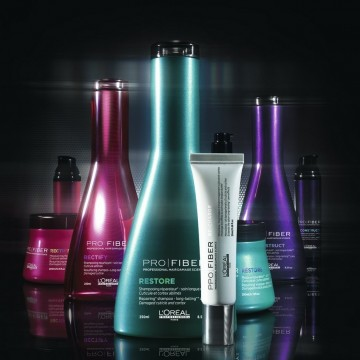 Спечелете възстановяваща процедура за коса ProFiber от L'Oréal