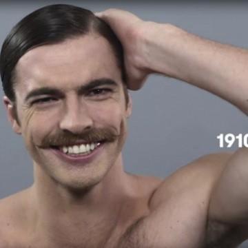 Сто години мъжка красота