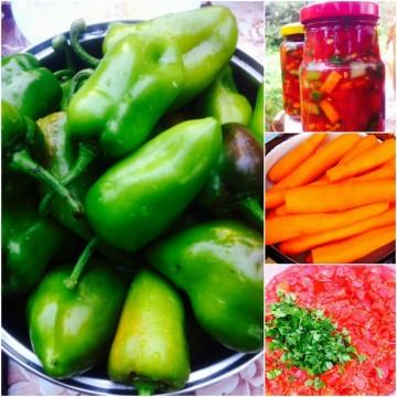 Вълшебни зеленчукови бурканчета за лесно готвене през зимата