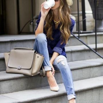 38 стайлинг идеи как да носим скъсани джинси
