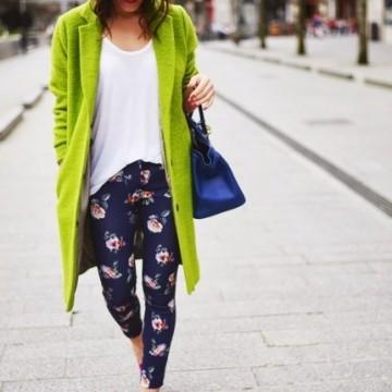 36 стайлинг идеи как да носите ярки цветове