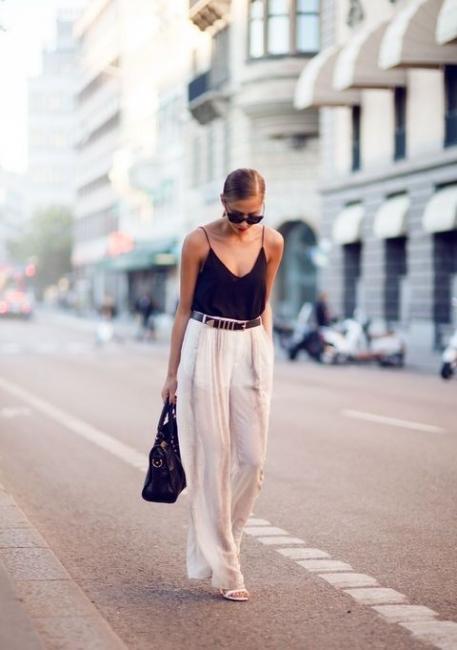 "35 стайлинг идеи как да носите дамски потник тип ""камизола"""