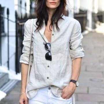 48 стайлинг идеи как да носите риза през лятото