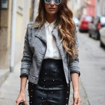 32 стайлинг идеи как да носите дънково или кожено яке през лятото