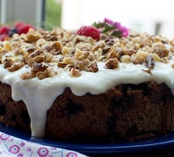 Лятна торта с горски плодове