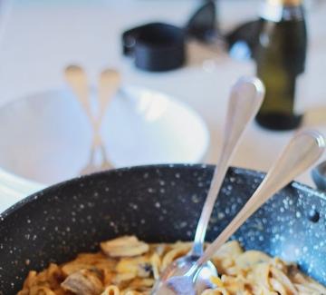 Италиански дни: Паста в тиквен сос