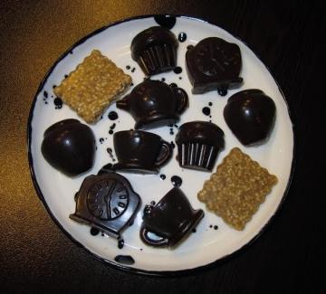 Шоколадово време: моите бонбони