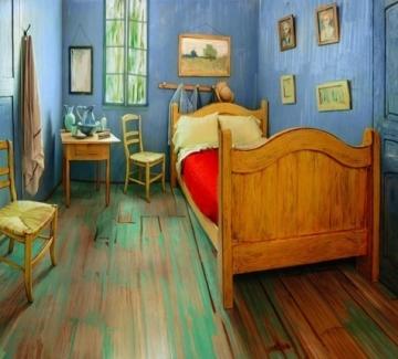 Да наемеш спалнята на Ван Гог