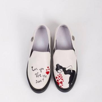Pesh. Art - новите ръчно изработени слип-он обувки