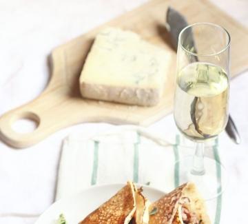 Италиански дни: Палачинки с месо и горгонзола