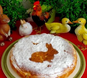 Великденски сладкиш с оризова плънка