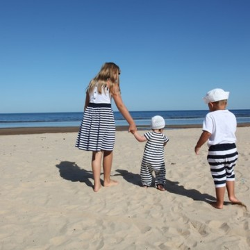 Синьо лято: 5 съвета и 20 идеи за пътешествия с деца