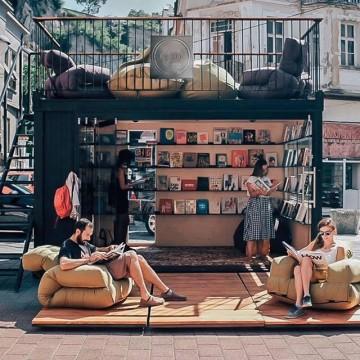 Design Bookery - пътуващата библиотека