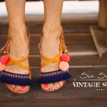Посрещнете слънчевите сандали на Vintage Summer!
