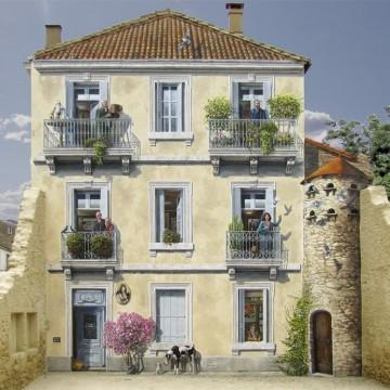 Френският Банкси на фалшивите фасади