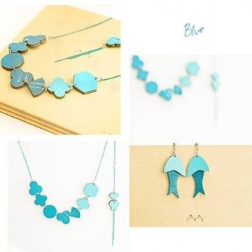 Морско настроение в синята серия на Kat's Jewelry