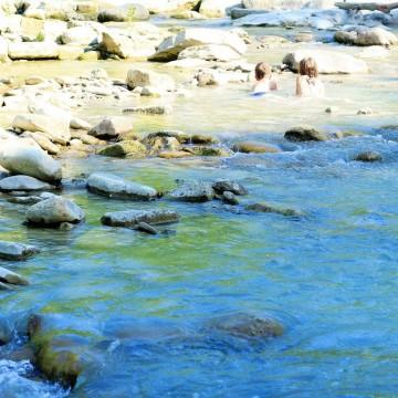 Синьо лято: Там, край реката