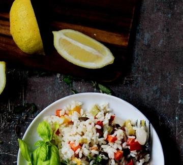 Италиански дни: Оризова салата
