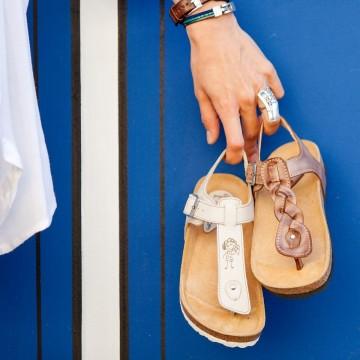 Piuma D'oro Shoes – авторски сандали с ортопедична стелка