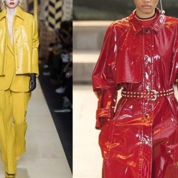 Модни тенденции есен-зима 2016: Лачена кожа