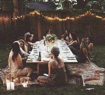 15 идеи за незабравима вечеря под открито небе
