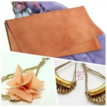 Деликатните бижута и чанти Natural mystic