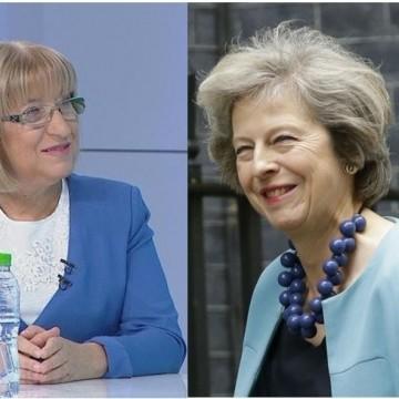 Тереза Мей и Цецка Цачева – личният стил като политическо послание