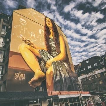 Галерия на модерното улично изкуство в София