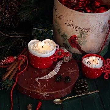 Изящна и уютна Коледа със свещи Gancini