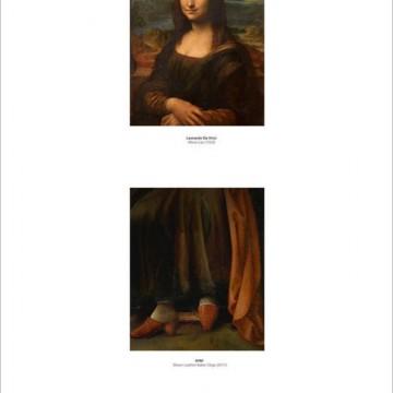 Как изглежда Мона Лиза в цял ръст?