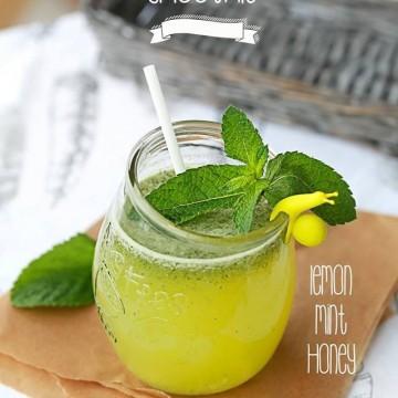 Прохладна смути-лимонада