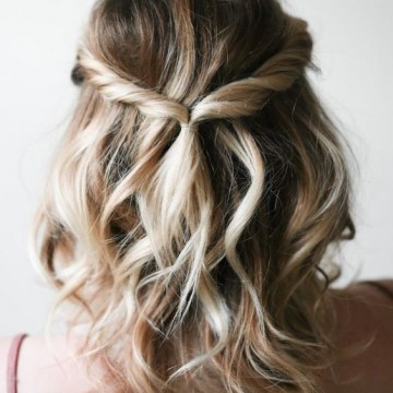 22 идеи за прическа, подходящи за по-къса коса