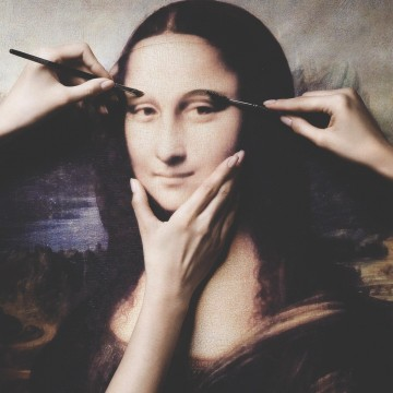 Новото лице на Мона Лиза
