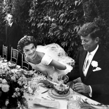 Бляскавата сватба на Джаки и Джон Кенеди