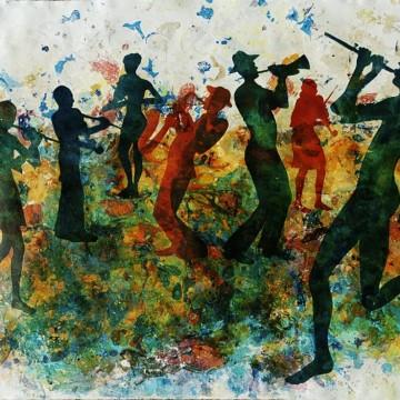 """""""Музика в цвят"""" – изложбата на Цветелина Спиридонова в Gallery 2.0"""