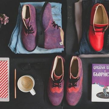 Pesh.Art и един различен поглед върху класическите модели обувки