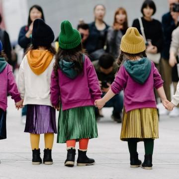 Екзотични и различни – децата на Сеул като модни икони