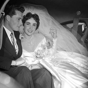 Роклите легенди: Първата сватба на Елизабет Тейлър