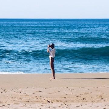 На сърф през ноември