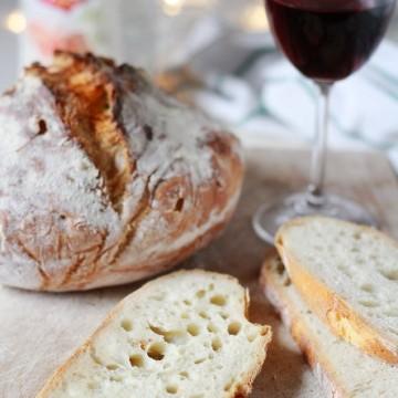 Най-вкусният хляб без месене!