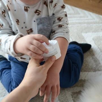 За здрава и видимо успокоена детска кожа
