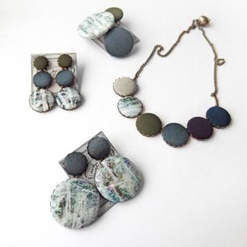 Цветовете на зимата при аксесоарите на Nadya's knit