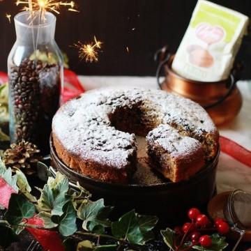 Кекс с шоколад, тиква и ръжено брашно