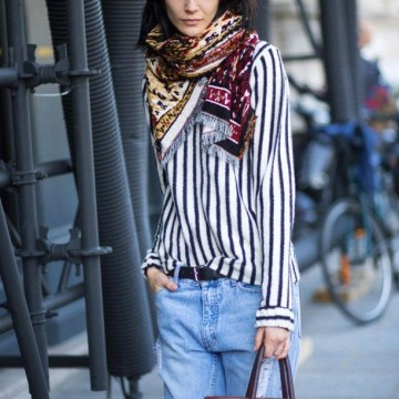 36 стайлинг идеи как да носите шал през пролетта
