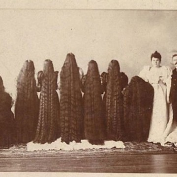 Седем жени с дълги коси - сестрите Съдърланд