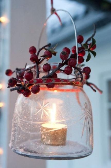 18 идеи за празнична декорация с участието на кухненския ви буркан