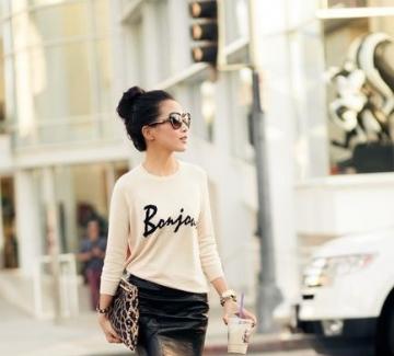 36 стайлинг идеи как да носите пола и пуловер