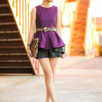 32 стайлинг идеи как да носите блуза с волан