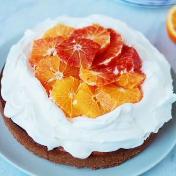 Италиански дни: Торта с рикота, маскарпоне и портокали